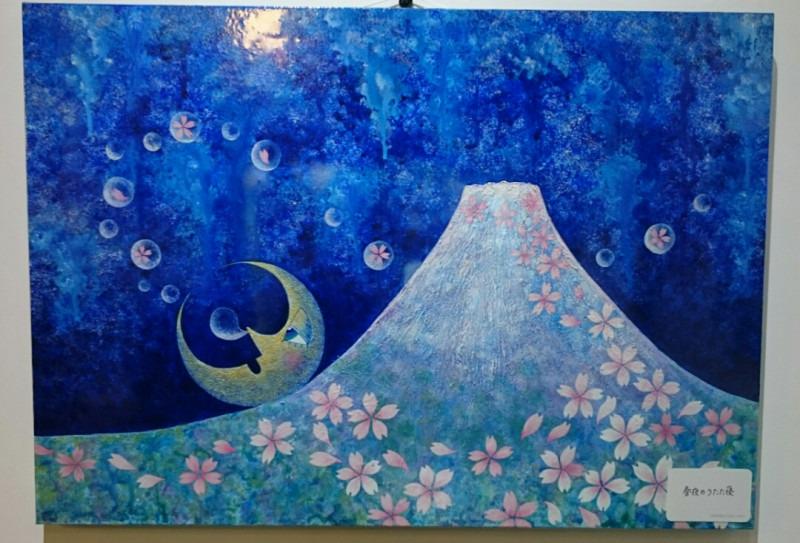 お月さまの絵